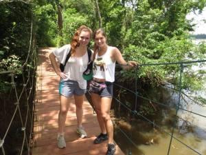 Adventures at Iguazu Falls, Brazil
