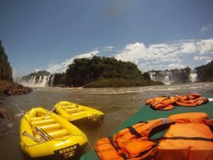 White-Water Rafting Iguazu Falls, Brazil